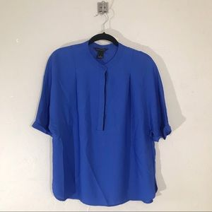 Investments Cobalt Oversized Blouse Size S